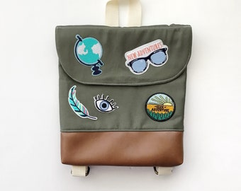 Explorer Tiny Pack - Small Backpack - Toddler Backpack - Tiny Backpack - Toddler Bag - Backpack - Toddler Purse - Kid Backpack