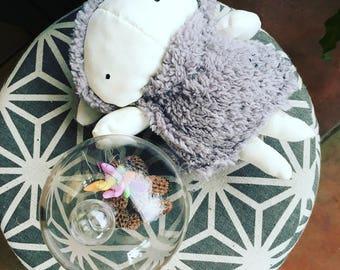 Sheep Plushie of Zoe and Lou
