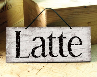 coffee shop decor kitchen sign restaurant decor - Picture Home Decor