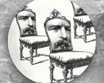 man chair plate
