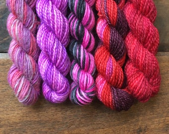 Harry Potter Mini Sock Yarn Skeins -  Amortentia - Set of 5 for your knitting project bag