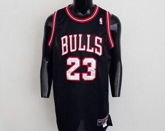Rare DS Nike Michael Jordan Chrome Lettering Chicago Bulls Sz. 50