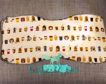 Burp cloth, Drool Cloth,100% Cotton,Organic terry cloth