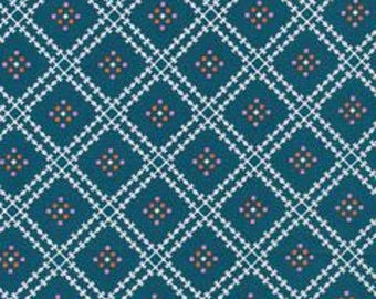 SALE!! 1/2 Yard  Stay Gold by Aneela Hoey for Cloud 9 Fabrics- 160413 Jenny's Plaid Spruce