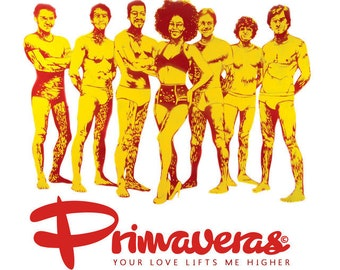 """Primaveras- 45t /7"""" Your love lifts me higher-limited ed Enjoy recording"""