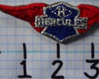 """Vintage """"Hercules"""" Motorcycle Patch (005)"""