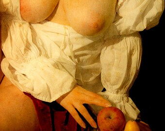 Female nude renassaince baroque art photo - Caravaggio Inspired - 06