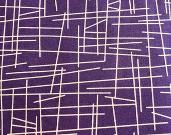 Pick up Sticks by Kim Schaefer for Andover Fabrics Purple P1