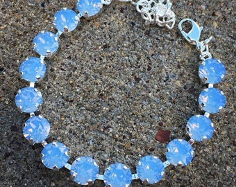 SELECT YOUR COLOR 8mm Swarovski crystal bracelet