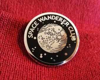Space Wanderer Club Enamel Pin