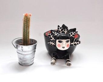 Ceramic pot / plant design