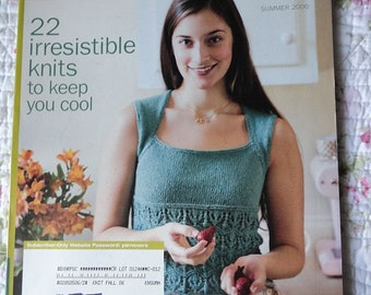 Interweave Knits Magazine - Summer 2006 - 22 Irresistible Knits to Keep You Cool