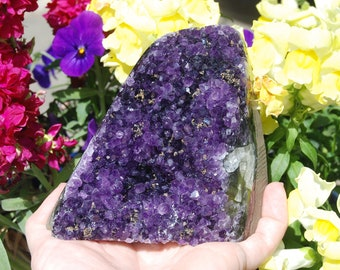 Amethyst Crystal | Amethyst Geode | Amethyst Cluster | Raw Amethyst | February Birthstone | Addiction Meditation Psychic Use