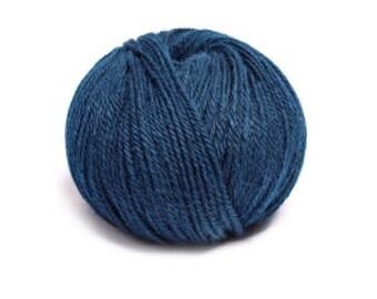 Indiecita 100% Baby Alpaca Yarn -DK- Blue