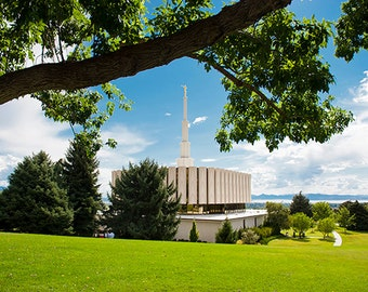 Digital Download Photo of The Provo Temple