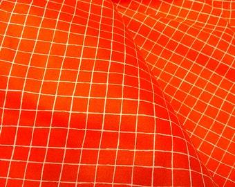 Fabric red white checkered Modern fabric by yard Cotton Fabric Kids Fabric Scandinavian Design Scandinavian Textile