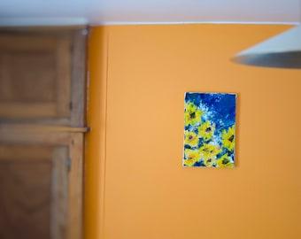 Tableau Art figurative sunflower