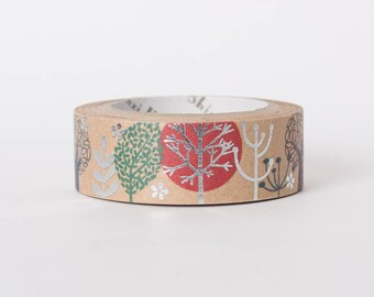 Japanese washi tape - kraft paper masking tape by Shinzi Katoh