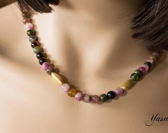 Tourmaline Dream Necklace
