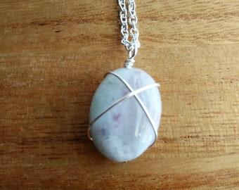Lilac Stone Pendant