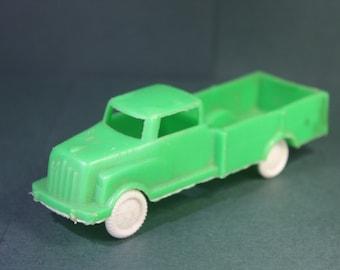 Vintage Green plastic DB Wannatoy plastic pick up truck. Free Shipping Domestic USA