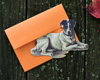 Die-Cut Correspondence Cards (Canine)