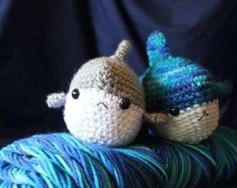 Crochet Shark Plushie