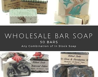 Wholesale Bar Soap, 50 bars, bulk bar soap, wholesale soap, wholesale vegan soap, wholesale natural soap, Vegan Bar Soap, bulk soap