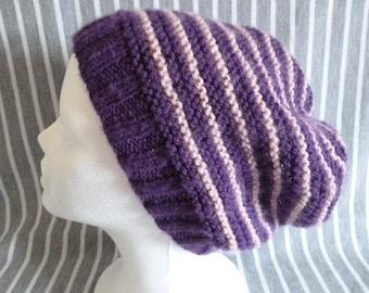 1 Hat in acrylic yarn Handmade wool knit, knit
