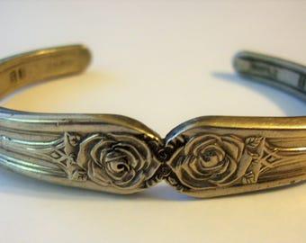 Silverplate Spoon Handle Bracelet
