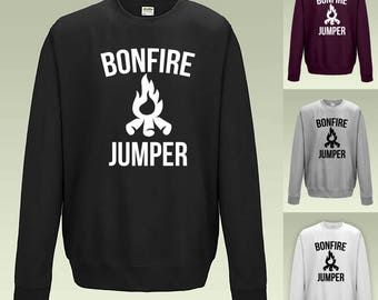 Bonfire Jumper JH030 Sweatshirt Funny Joke Sweater