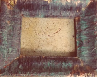 Distressed Copper Altered Frame