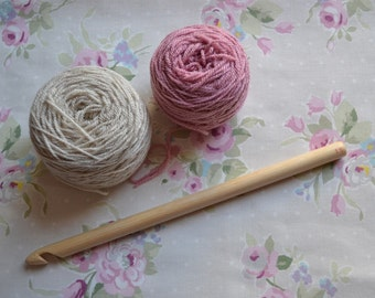 15mm Handmade Wooden Crochet Hook