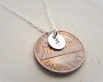 Small Initial Necklace in Sterling Silver, Tiny Necklace, Jewelry for Teen or Girls, Dainty Necklace, Delicate Necklace, Layering Necklace