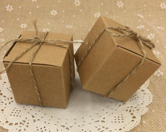 For small keepsakes - kraft packaging kraft box