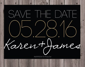 Save the Date - Item #009