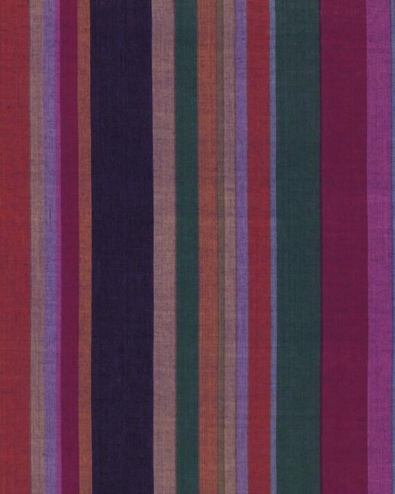 ROMAN STRIPE Woven  SHADOW  wromanx.shadow by Kaffe Fassett fabric sold in 1/2 yard increments