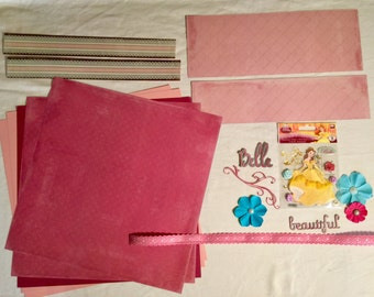 Belle Scrapbooking Kit