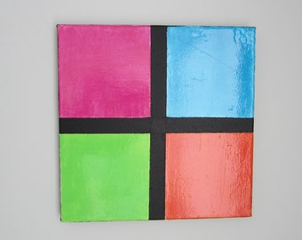 Original Abstract Art, Squares