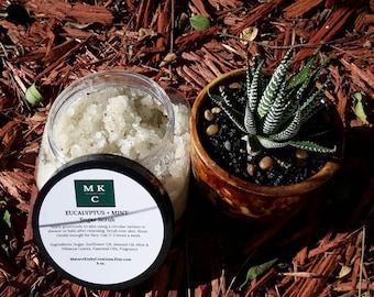 Eucalyptus + Mint Sugar Scrub