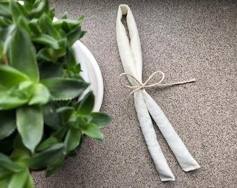 Lavender hanger sachet | french dry lavender sachets | natural fragrance home freshener | dried lavender pillow | ecru fabric