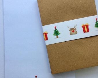 Christmas Stationery Letter set