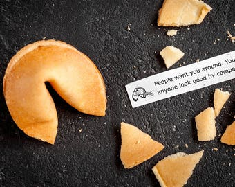 Twisted Fortune Misfortune Cookies: Limited Edition Box of 20