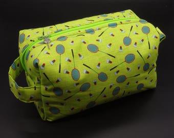Badminton Bag, Camping Supplies, Camp Bag, Travel Pouch, Ditty Bag, Dopp Kit, Go Bag, Toiletry Bag, Cosmetics Pouch, Badmitten, Badmitton