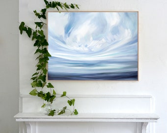 "Large Fine Art Canvas Print ""Expanse & Peace"" by Emily Jeffords"