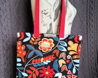 "Tote bag or Tote pattern ""flowers"""