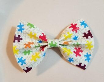 Autism Awareness Benji Bow