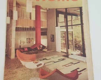1960 L.A. Times Home Magazine Section. Mid Century Modern goodness throughout! Amazing Vintage ads galore. Great condition.