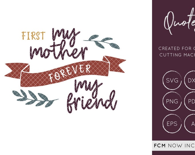 Mothers Day SVG Cut File