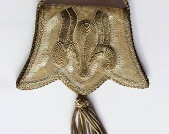 Unique Antique French Coin Purse collection piece handbag
